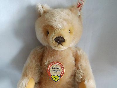 Steiff Teddy 25 Nürnberg    26 cm in blond  Jahr 1996 Limitiert siehe auch Fotos