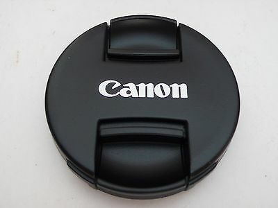 82mm DSLRs Camera lens Center Pinch Snap Cap Cover for Canon Camera Japan Made