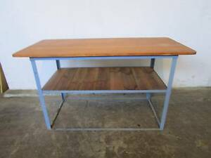 D20066 Industrial Metal Timber Bar Workbench Kitchen Island Bench Mount Barker Mount Barker Area Preview