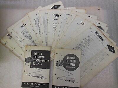 Spicer - Synchro Master Mdl. 8125 - 12 Speed Transmission Shop Manual 1965