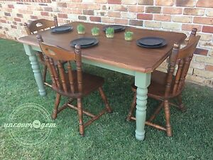 Olive dining table Redland Bay Redland Area Preview
