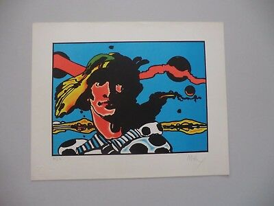 Peter Max Prince Caspian of Narnia 1960   Lithograph  AP - Narnia Prince Caspian Peter