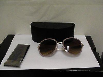 Women's Prada new sunglasses SPR 51N  57/20 pink frame brown lenses Italy