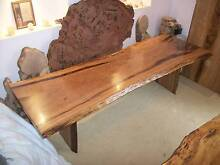 BLACKBUTT Hardwood timber slab dining / outdoor table NEW 2.77mtr Panania Bankstown Area Preview