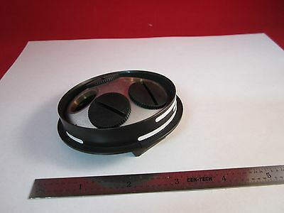 Part Of Microscope Ergolux Leitz Wetzlar Nosepiece As Is Binc6-1-a