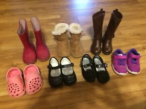 Toddler girl footwear.  All prices obo