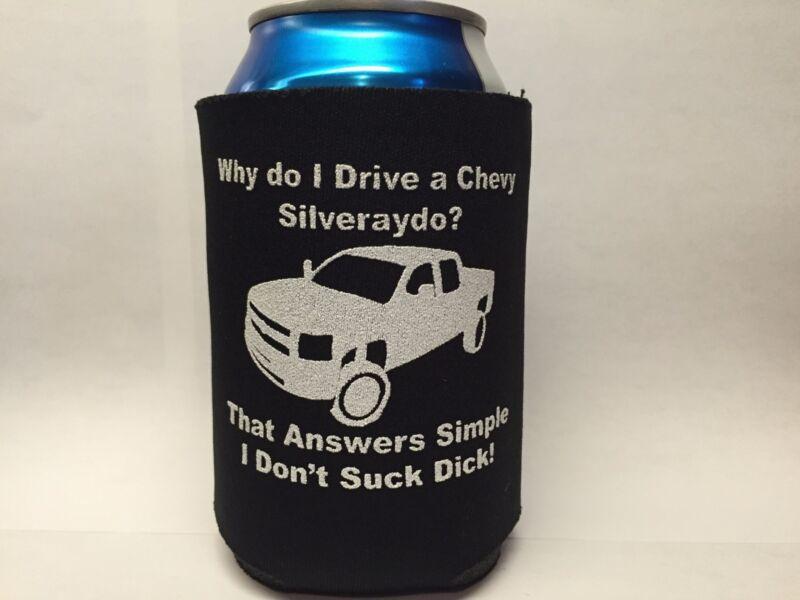 Chevy Silveraydo Can Cooler Chevrolet Silverado Parody Amiri King Inspired