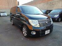 NISSAN ELGRAND Highway Star Automatic Black LEATHER 4WD