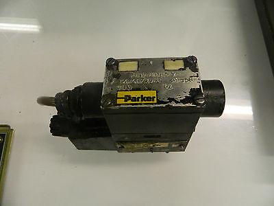 Parker Hydraulic Valve, D1VW20B5Y, 5000 PSI, 120 V, Used, Warranty
