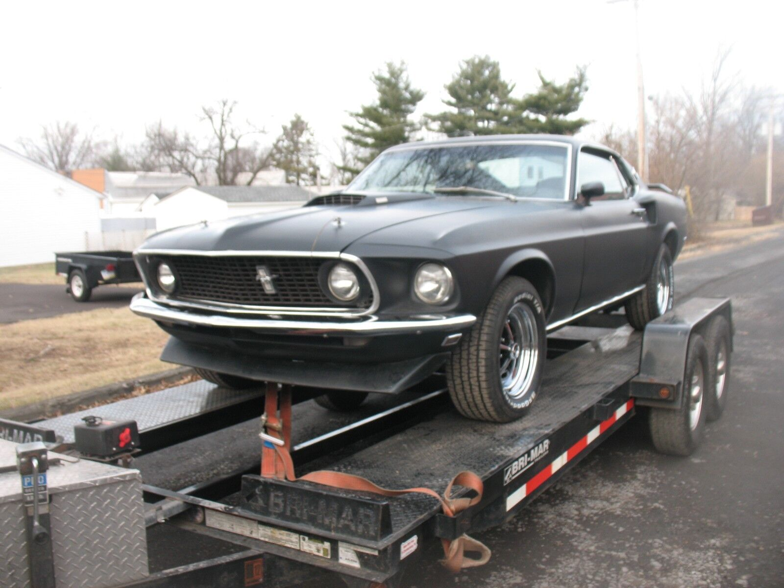 1969 Ford Mustang Mach 1 S-Code 390 / 4 Speed