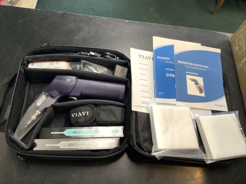 Viavi FiberChek Fiber Inspection and Analysis Probe Kit w/Tips & MP-60!