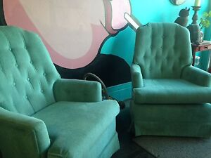 Tufted Swivel Chairs
