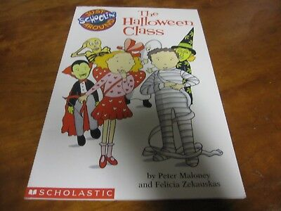 Just Schoolin' Around: The Halloween Class by Felicia Zekauskas and Peter Malone - English Class Halloween