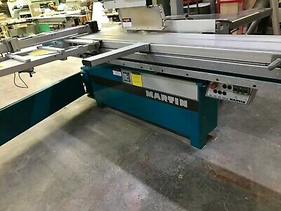 Wood Working Machinery Martin T72a Sliding Panel Saw