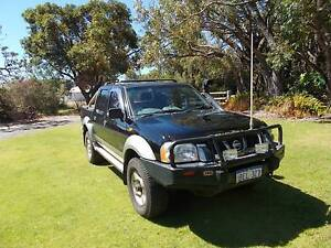2002 Nissan Navara STR Dual Cab Ute Wanneroo Wanneroo Area Preview