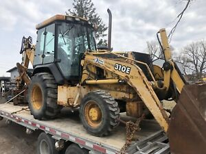 Equipment Transport Backhoes Tractors Freight Trailers