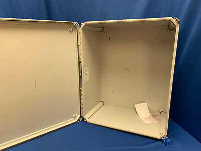 Hubbell Wiegmann Hw-201610chqr Enclosure 20x16x10 Opaque Cover Hinged