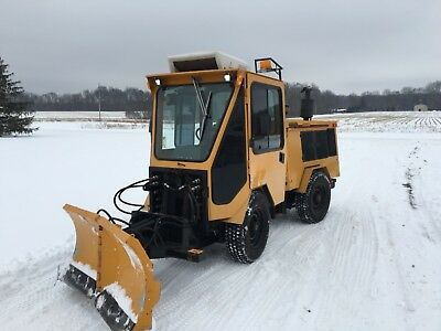 Cummins 110hp Turo Diesel Trackless Mt 5t With 2 Stage Blower And 6way Plow