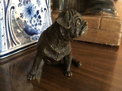 French Bulldog Bronze Paris Foundry Statue