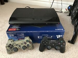 PS3 500gb Console w/lots of extras
