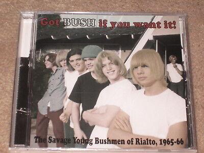 BUSH / BUSHMEN - GOT BUSH IF YOU WANT IT - NEW