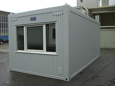 Bürocontainer Mietcontainer 6m x 3m Wohncontainer Baucontainer Container Bau