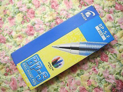 36pcs Pilot Bp-s 0.7mm Fine Ball Point Pen With Cap Blue Inkjapan