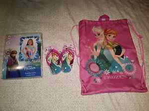 FROZEN SET - BATHERS, THONGS & SWIMMING BAG  - BRAND NEW Windsor Gardens Port Adelaide Area Preview