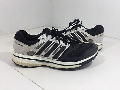 Adidas Men's Supernova Glide 6 Boost - Size 10 - Black & White (Adidas Supernova Glide 6)