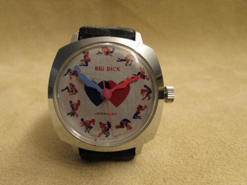 Vintage Swiss Movement Gents Sex Watch
