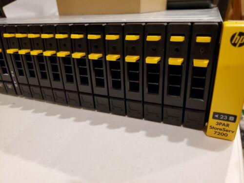 HPE 3PAR StoreServ 7200 2-node Storage 5.8TB & Password