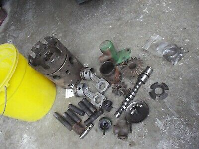 John Deere Tractor Jd Pony Motor Parts Pieces Camshaft Pistons Gear Bolts Nuts