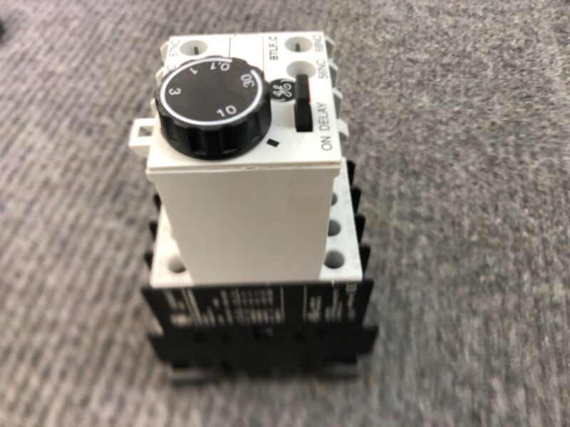 General Electric GE RL4RA040T Contactor BTLF30C Time Delay Relay 120V Coil .1-30