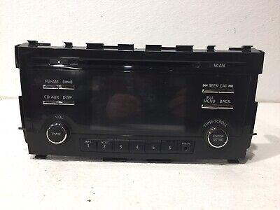 2013 13 nissan altima radio stereo xm cd player 28185 3ta0b sedan sv NO NAV ()