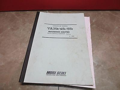 Mori Seiki Operation Manual Va35 Iii 45ii 55ii Cnc Mill Fanuc 11m 10m