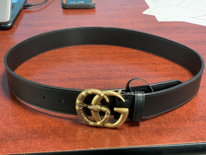 GG belt women Snake SIZE 38