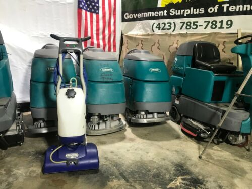 Windsor iCapsol Mini Deluxe Carpet Cleaner Floor Machine W/ Brushes NO SHIPPING