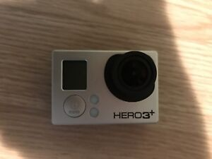 GoPro Hero 3+ Black Edition with ALOT of fixings
