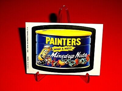 """1974 Wacky Packages Original Series 10 """"PAINTER'S MIXED-UP NUTS"""" Sticker Card for sale  Shipping to Canada"""