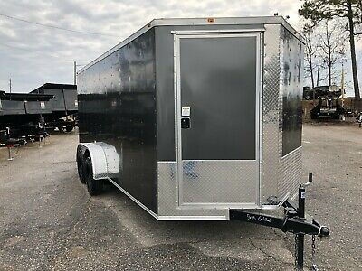 New 2020 7x16 Vision Tm  Enclosed Cargo Trailer 2019 - Contact 919-661-1045