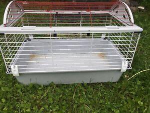 Cage avec ou sans lapin