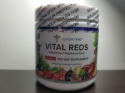 Vital Reds Dr  Gundry Md Concentrated Polyphenol Blend 4Oz  Free Shipping Fresh