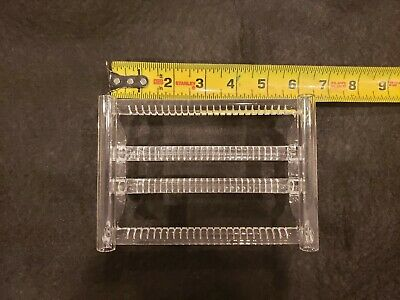 Quartz Boat/Cassette, 100mm wafers, qty 25 capacity, for furnace or oven, used for sale  San Jose