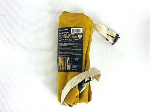 "NEW TILLMAN 4440 24"" X 40"" PREMIUM SIDE SPLIT COWHIDE SPLIT LEG WAIST APRON!"