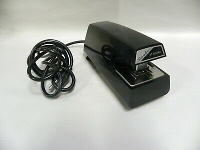 Vintage Commercial Swingline Model 67 Electric Stapler A6