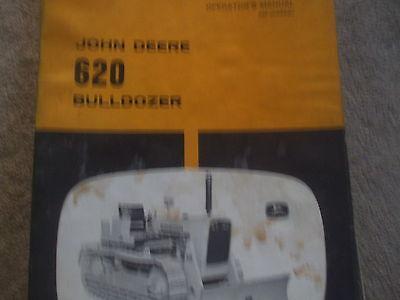 John Deere 620 Bulldozer Operators Manual