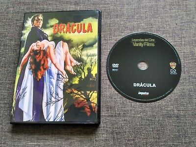 DVD DRACULA - VANITY FILMS - HORROR OF DRACULA - PETER CUSHING - CHRISTOPHER LEE segunda mano  Oviedo