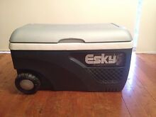 Esky 65L Grey And White Hard Ice King Cooler With Wheels Loftus Sutherland Area Preview