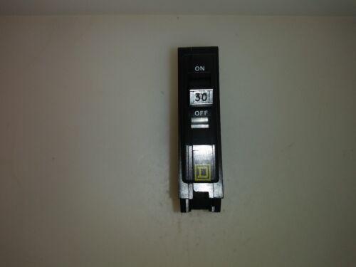 Square D QO130 30 Amp 1 Pole Plug In Circuit Breaker Yellow Face