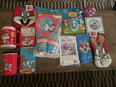 Lot Of Vintage Bugs Bunny Collector Items Rare